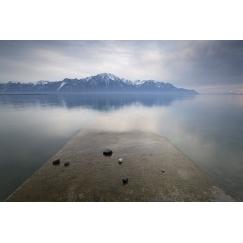 Lac léman, solitude