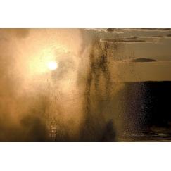 Sunset geyser