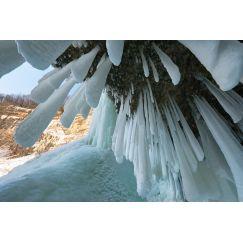 Stalactites de glace
